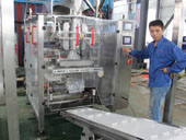 Fully-automatic ice packing machine with ice delivery sytem