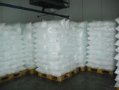 Ice storage room for ice bags